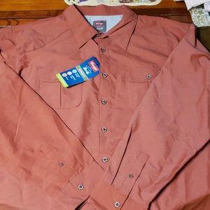 Mens wrangler outdoor shirt